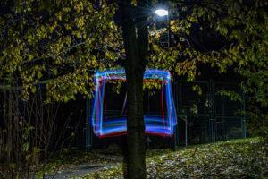 Fotoworkshop in der Abendschule Jena, Lightpainting