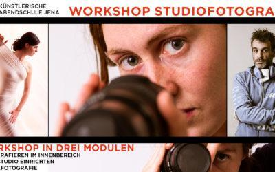 Workshopreihe Fotografie im Innenbereich und Homestudio