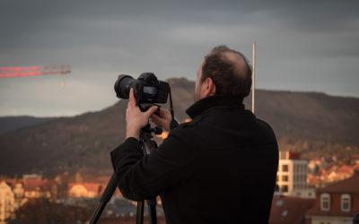 """Workshop """"Lichtquellen"""" innerhalb des Fotokurses"""
