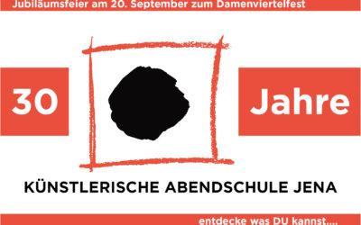 Jubiläumsfeier am 20. September